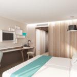 Le B d'Arcachon *** - Chambre 3 © ALNO Atelier d'Architecture