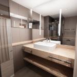 Le B d'Arcachon *** - Salle de bains 2 © ALNO Atelier d'Architecture